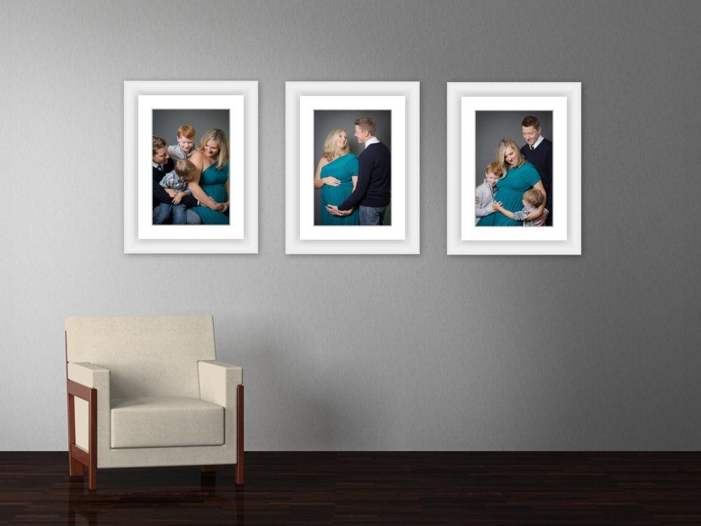 fall studio maternity portraits Fort Mill, SC Tega Cay, SC Charlotte, NC maternity portrait