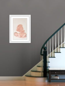 pricing guide investment information framed portrait baby girl in pink