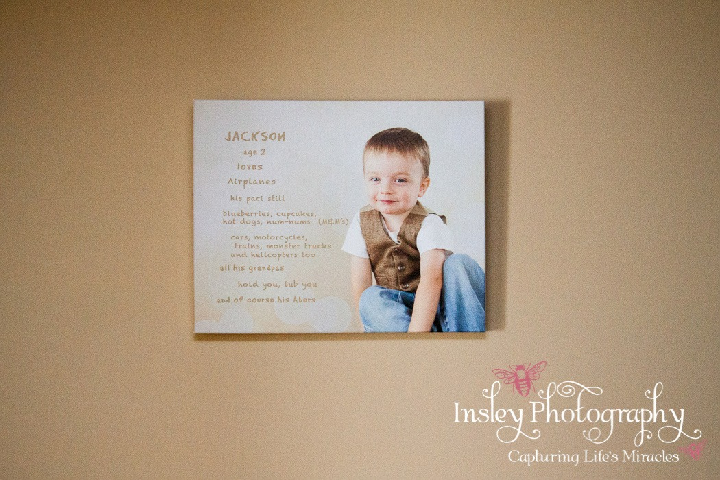 Final Artwork Gallery Canvas prints 2 year old portraits