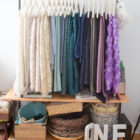 DIY clothing rack Coat rack industrial pipes pink rose gold