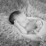 Oliver 9 days old newborn sessions indoor baby portrait photo