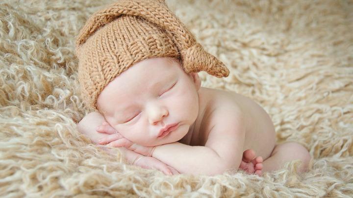 newborn baby boy knit cap