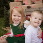 Christmas Card Mini Sessions kid pictures