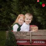 Christmas Card Mini Sessions kid photos