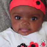 nina-3-months baby girl indoor baby photo