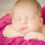 Peyton newborn baby girl pink