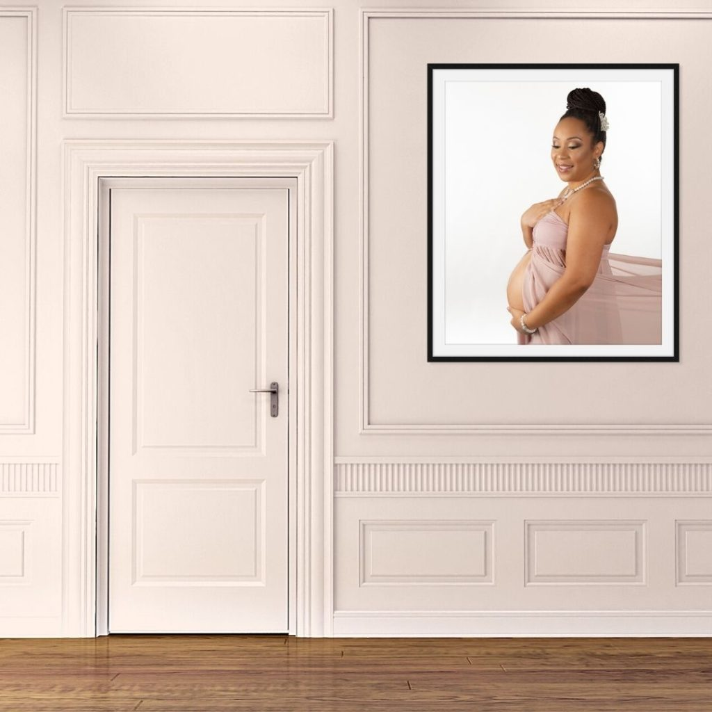 framed print, maternity portraits, Indian Land Sc, charlotte nc