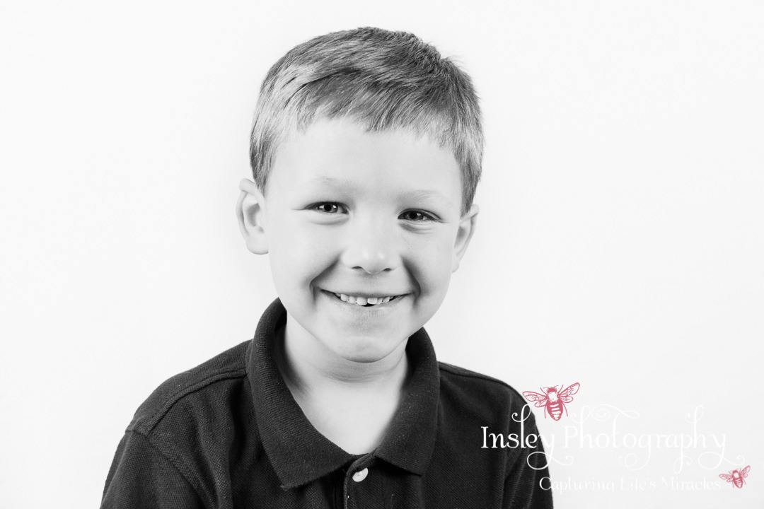 Black and White Portraits siblings children handsome boy