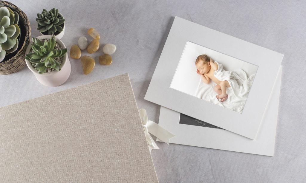 newborn baby matted print folio box, Fort Mill, SC, Charlotte, NC, Tega Cay, SC
