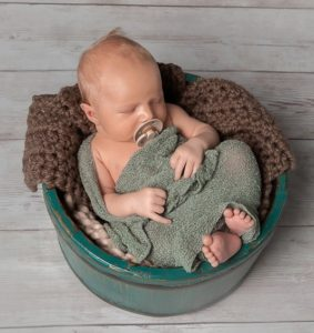 Miracle baby boy in blue, Tega Cay, SC, Charlotte, NC, Lake Norman, NC