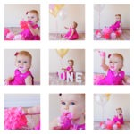 One year old! baby girl