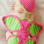 Newborn Baby Girl butterfly