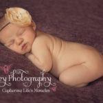 newborn baby girl flower