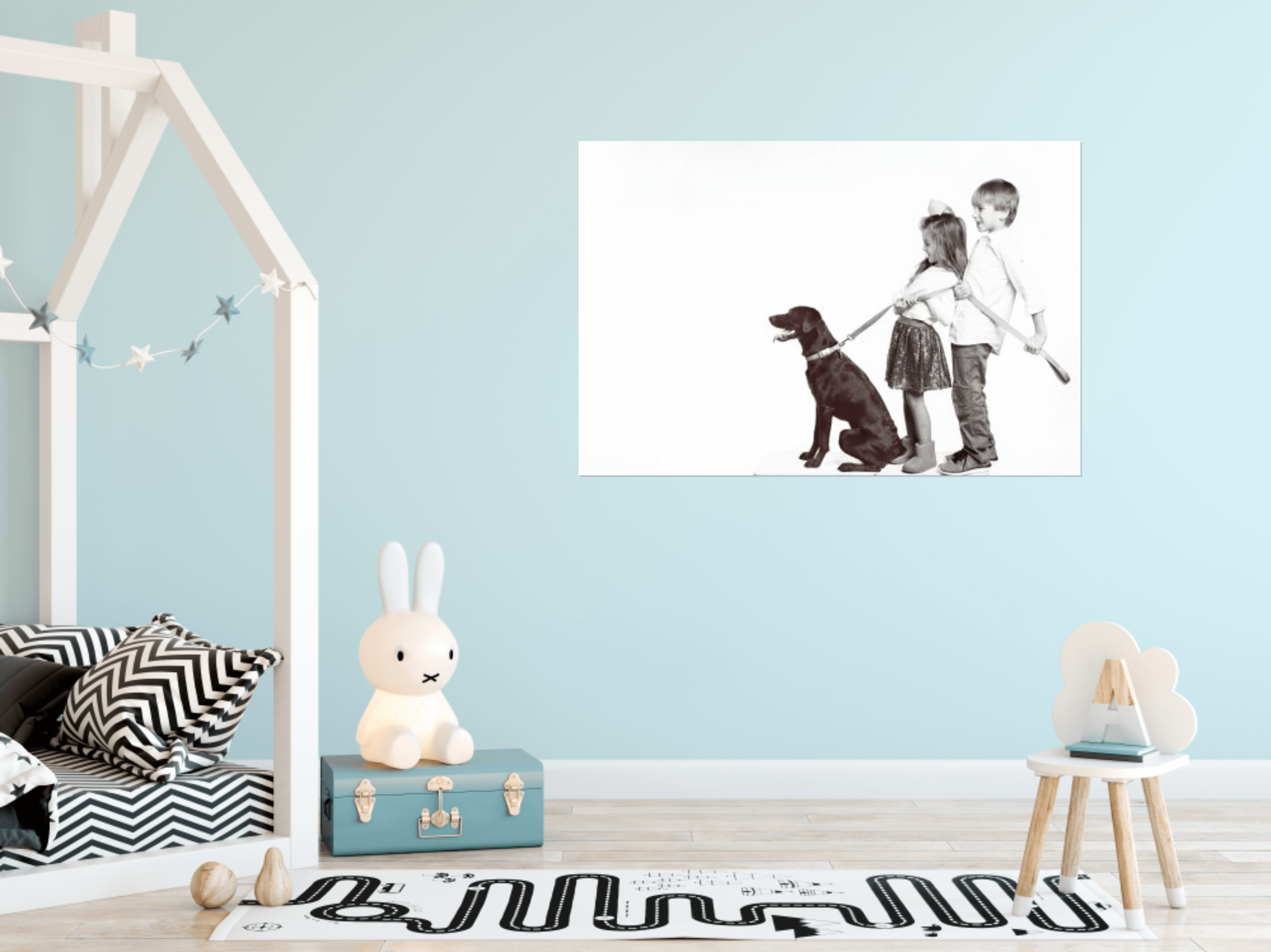 Fort Mill, SC, Tega Cay, SC, Charlotte, NC real kids artwork for your home, all the kids, puppy, playroom