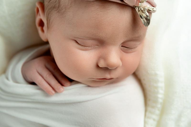 newborn baby girl white, Pineville, NC, Charlotte, NC